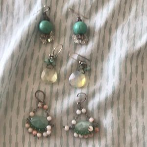 Jewelry - 3 pair of earrings